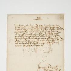 Carta de cortesía de Carlos I al cabildo catedralicio de Toledo informándole del nacimiento de Felipe, firmada por su secretario Francisco de los Cobos