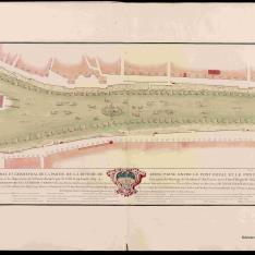 Plano general del Sena entre el Pont Royal y el Pont Neuf