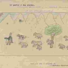 El pastor y sus ovejas
