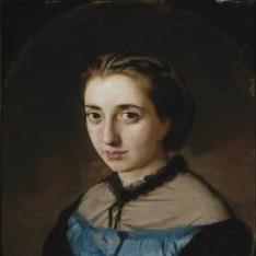 Maximina Martínez de la Pedrosa, esposa del artista