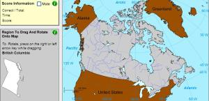 Provinces of Canada. Geographer. Sheppard Software