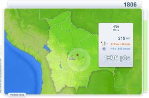 Ciudades de Bolivia. Juegos Geográficos
