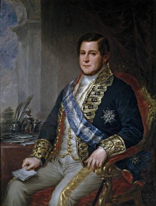 Juan Bravo Murillo, ministro de Fomento
