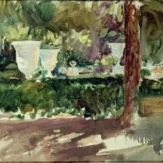 Jardín en La Granja