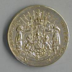Medalla conmemorativa de los VII Juegos Olímpicos
