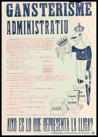 Gansterisme administratiu... Aixó és lo que representa la Lliga?