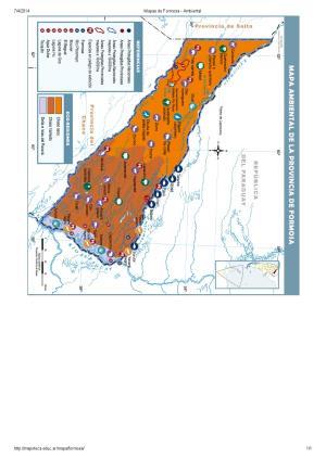Mapa ambiental de Formosa. Mapoteca de Educ.ar