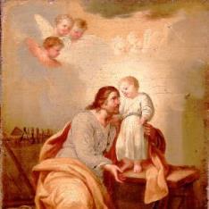 San José con el Niño
