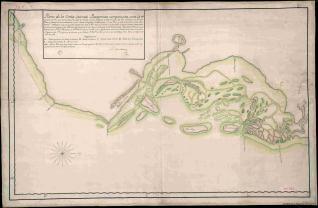 Plano de la Costa Oriental Patagonica