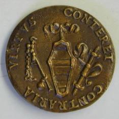 Medalla de Andrea Caraffa, conde de Santa Severina