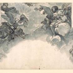 Boceto para pintura de techo