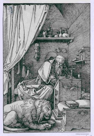 San Jerónimo en su celda