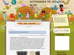 Actiidades TIC // Ed -Tech Blog