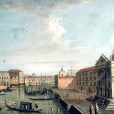 Vista del canal de Venecia