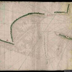 Carta de la bahía de Panzacola