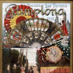 Pamplona / Fiestas de San Fermín 1902 / 5 grandes corridas / de toros...