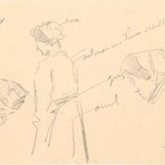 Estudios del traje femenino de Lequeitio