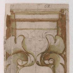 Pilastra decorativa