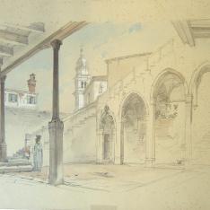 Patio de un palacio veneciano