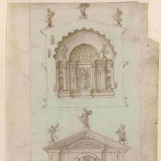 Reconstrucción del Templo de Venus y Roma