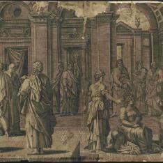 Cristo con Marta y María
