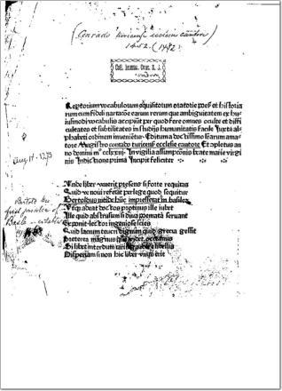 Fabularius seu Repertorium vocabulorum
