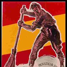 Bolchevismo, injusticia social, politicastros, masones, separatismo, F.A.I.