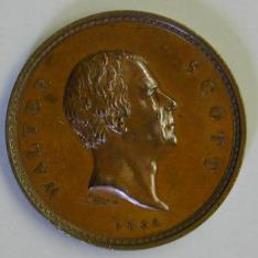 Medalla conmemorativa de Sir Walter Scott