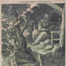 San Valentín, Obispo
