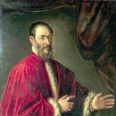 Retrato de senador veneciano
