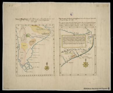 Viage de parte de la Tierra de Magallanes hecho año de 1748