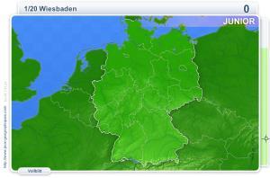 Städte Deutschlands Junior. Geographie Spiele