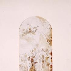 San Fernando recibiendo las llaves de Sevilla