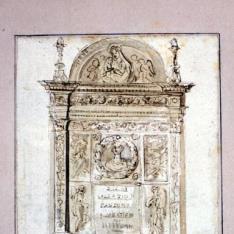 Sepulcro en Santo Domingo el Mayor de Nápoles