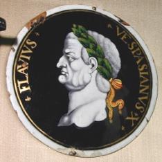 Placa del emperador Vespasiano
