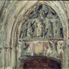 Puerta Antigua del Claustro, Catedral de Burgos