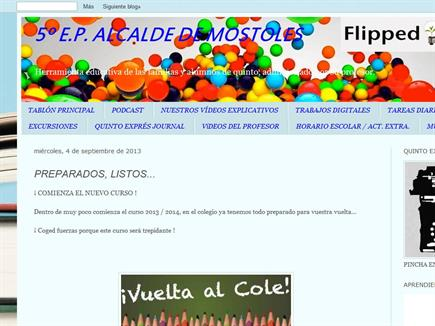 5ºE.P. Alcalde de Móstoles (The Flipped Classroom).