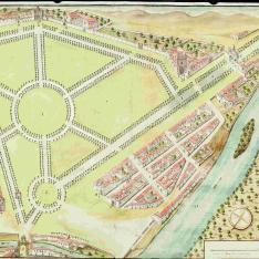 Plan del Campo Grande de esta ciudad de Valladolid