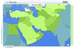 Geo Quizz Middle East . Geography map games