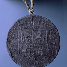 Sello de Felipe IV, rey de España