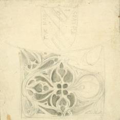 Motivo decorativo del palacio del duque de Infantado, Guadalajara