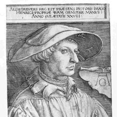 Retrato de Heinrich Aldegrever