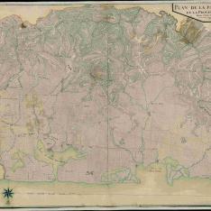 Plan de la Partie de L'Este de la Province du Nord
