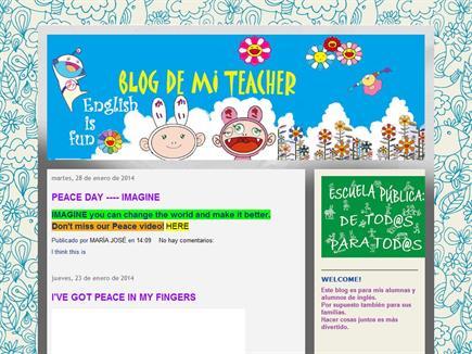 BLOG DE MI TEACHER