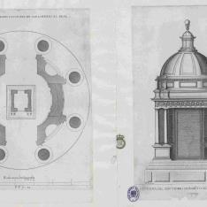 Undécimo Diseño, Planta del sagrario y la custodia