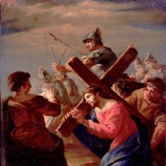 Cristo caído y la Verónica