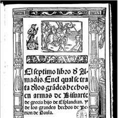El septimo libro d' Amadis