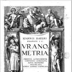 Ioannis Bayeri ... Uranometria