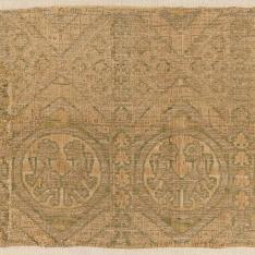 Fragmento de la capa del Abad Arnaldo Ramón Biure