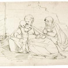 La Virgen, el Niño y Santa Ana